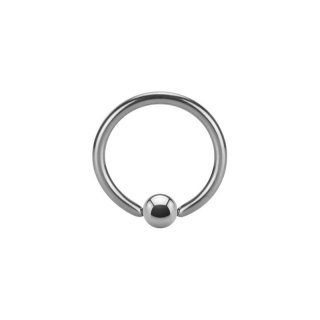 Steel Micro Ball Closure Ring - BCR - Micro Klemmring